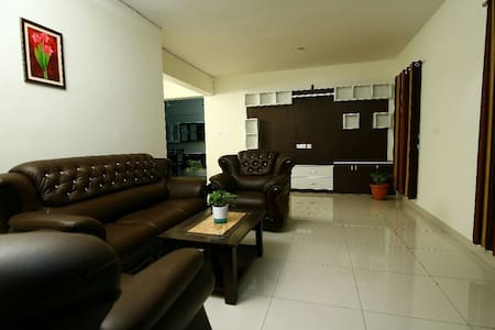 Fully Furnished Complete 3Bhk Flat Including Kit