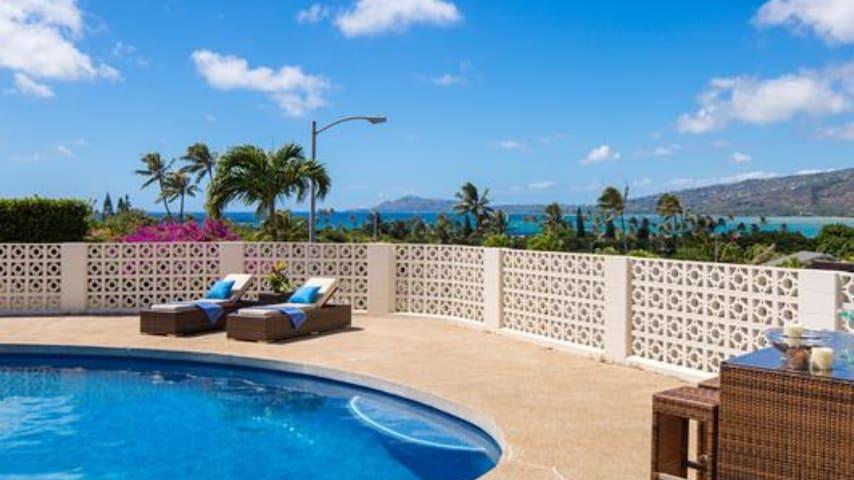 Luxury vacation rent at hawaii Kai