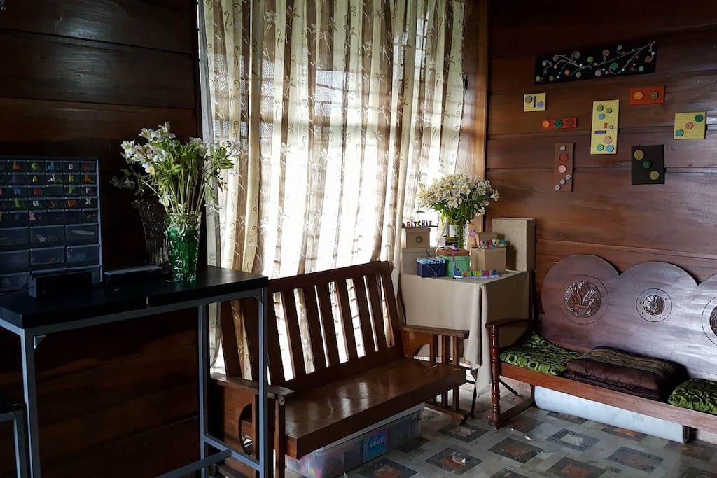 Spacious Living Room.