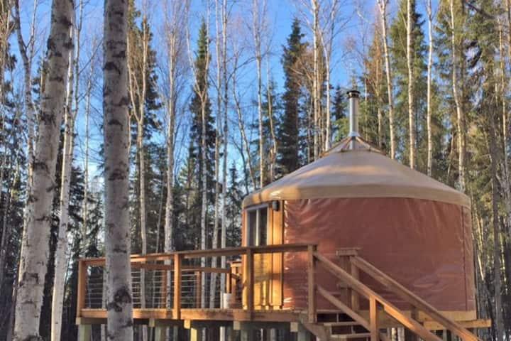 """""""North Woods Yurt"""""""