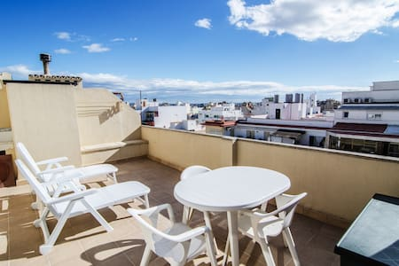 Penthouse with large terrace in Palma de Mallorca - Palma - อพาร์ทเมนท์