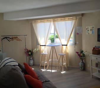 Studio ensoleillé à 1 min de la mer - Vallauris - Appartement