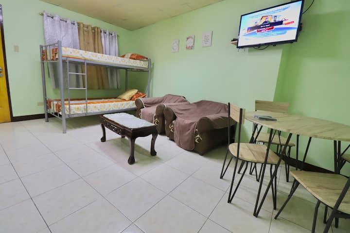 FAITH 1-Bedroom Unit at La Casa de Great + WIFI