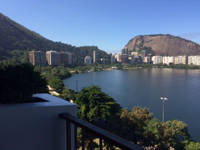 Mirante da Lagoa - Apto prático e aconchegante - Rio de Janeiro - Leilighet