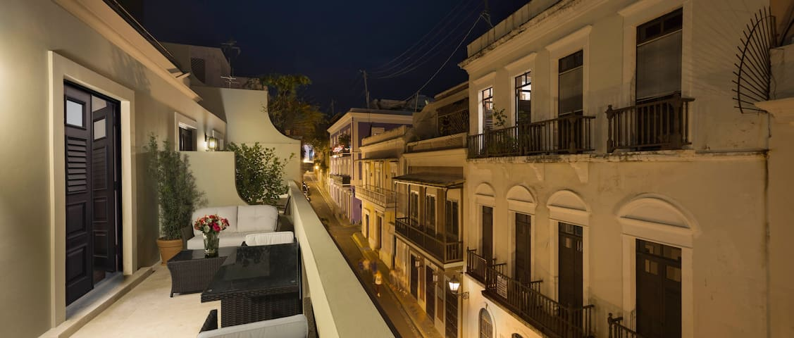 Gorgeous 1BR Suite/Private Terrace - Old San Juan - Sant Joan - Hotel boutique