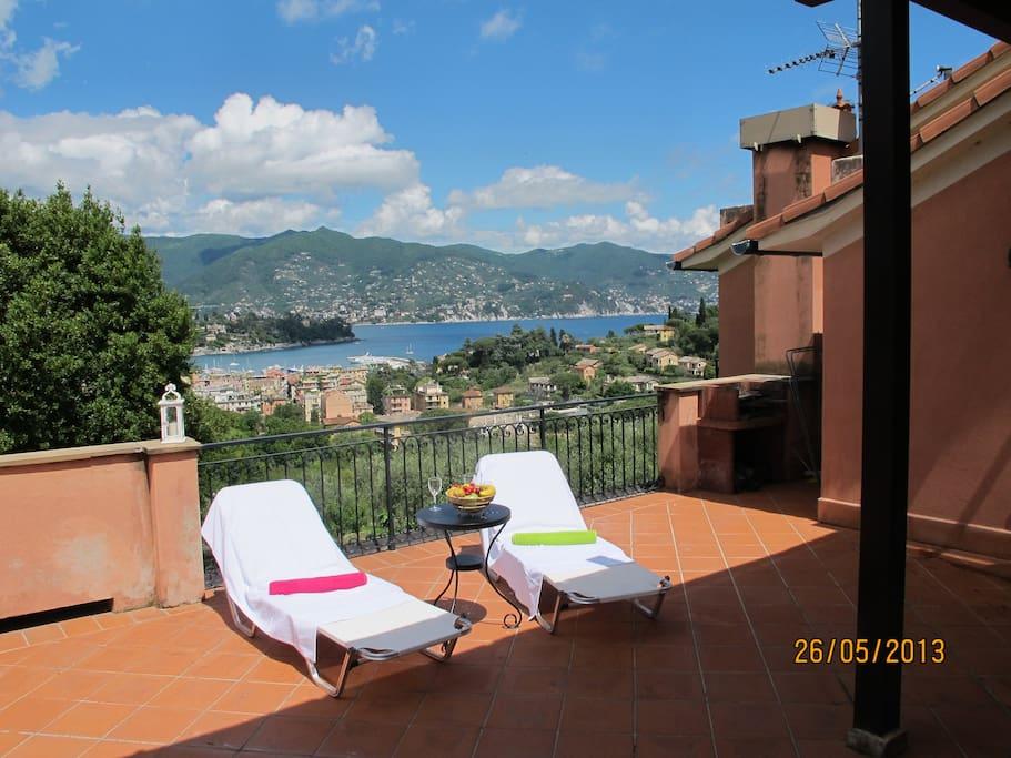 Panorama e atmosfera apt in villa rustica appartamenti - Bagni helios santa margherita ...