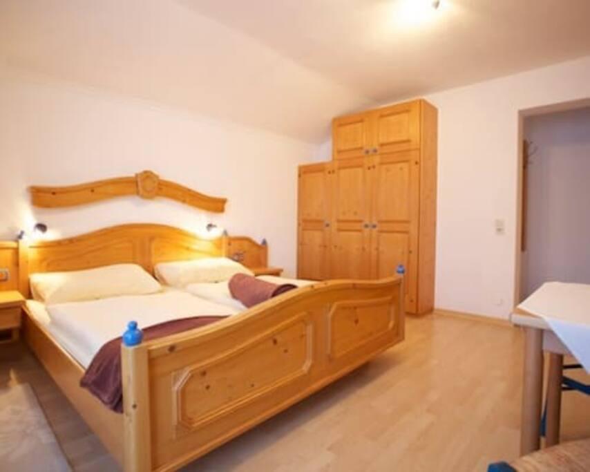 Apartment Stieglitz Schlafzimmer
