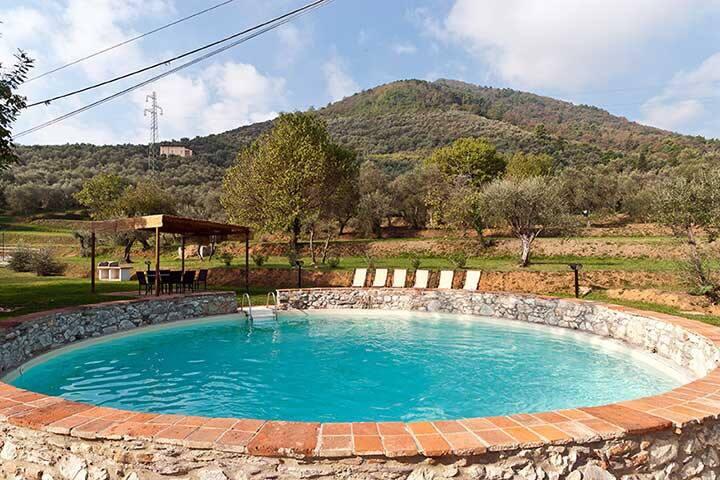 Buonvisi Farmerhouse med privat pool