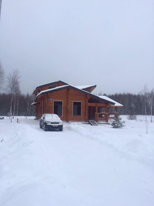 Снежной зимой 2016-2017