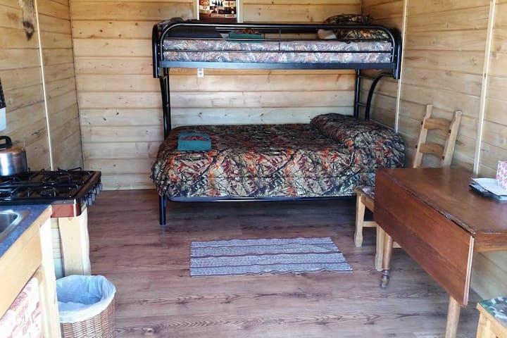 private cabin space