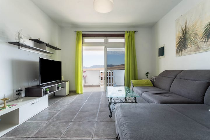 Holiday Home 'Casa Caleta de Caballo' directly by the Sea with Sea View, Wi-Fi, Balcony & Terrace