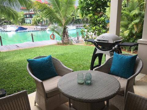 Eden Island 2 bedroom garden apartment, Seychelles