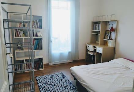 Chambre avec terrasse proche Arena