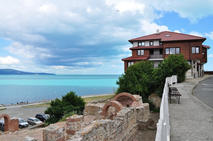 Superior Two-Bedroom Apartment with Sea View