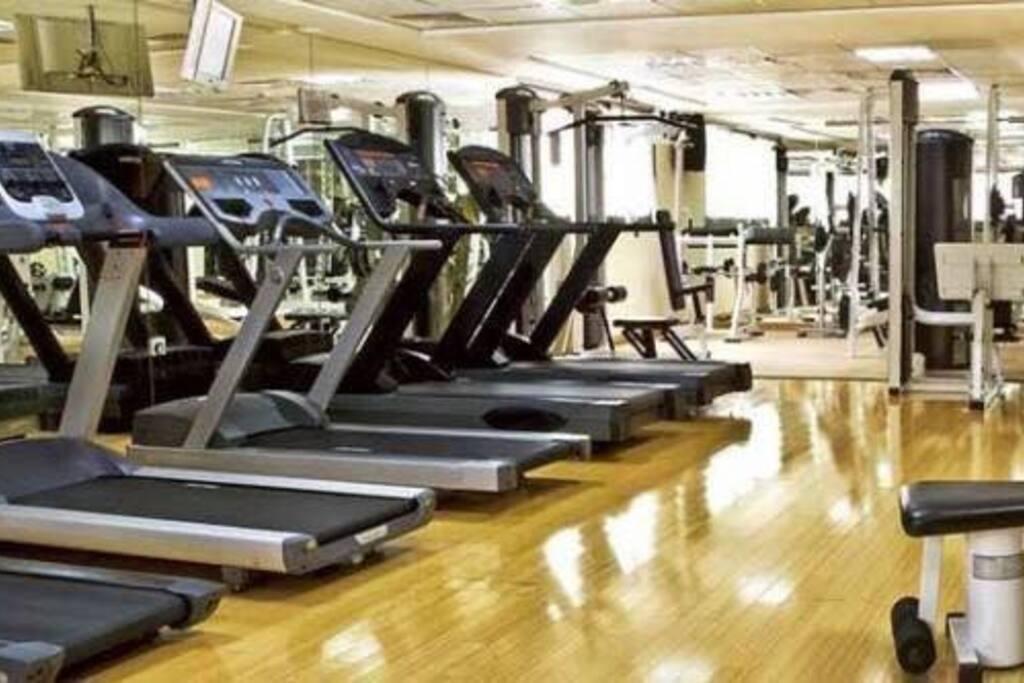 Gym center free!