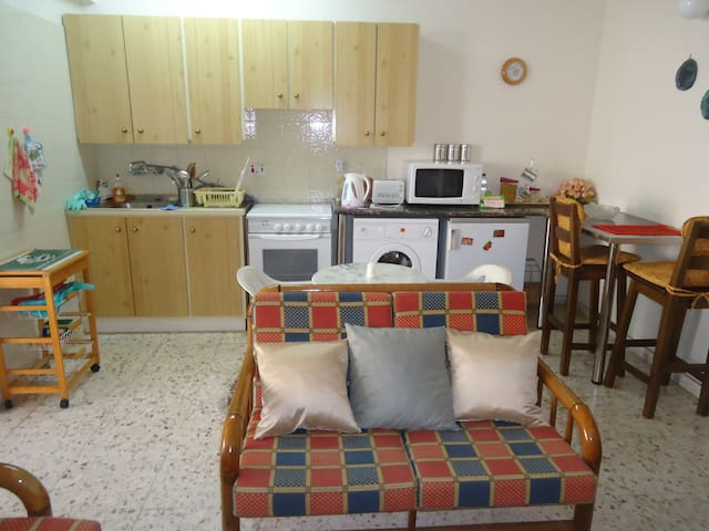 Studio for rent in Ayia Napa near Nissi str Cyprus - 阿依納帕(Ayia Napa) - 公寓