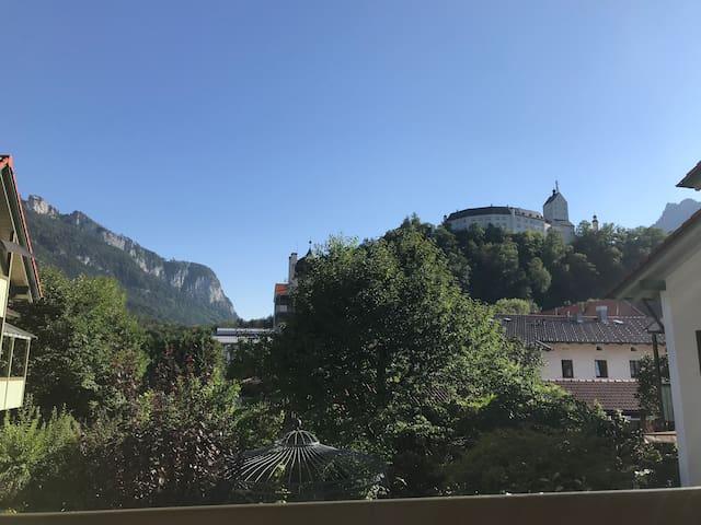 Exclusive Ferienwohnung in Hohenaschau mit Balkon