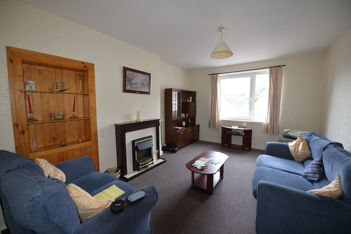 Close to centre of lovely fishing village - Mallaig - Apartament