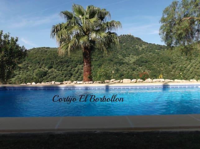 CORTIJO EL BORBOLLON SIERRA DE GRAZALEMA OFFERS - Prado del Rey - Casa