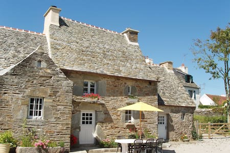 Manor house in seaside village