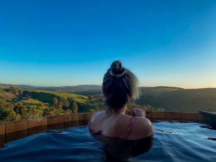 Matanzas Lodge, Cabaña y Hot Tub.