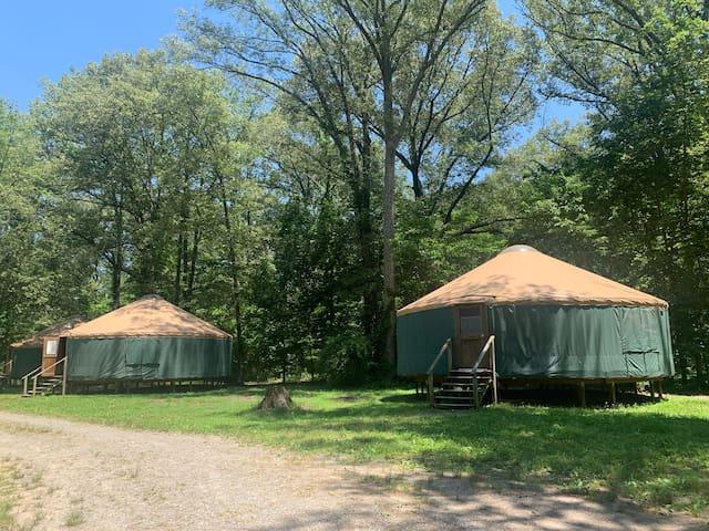 Camp Manitowa - Green Yurt #2