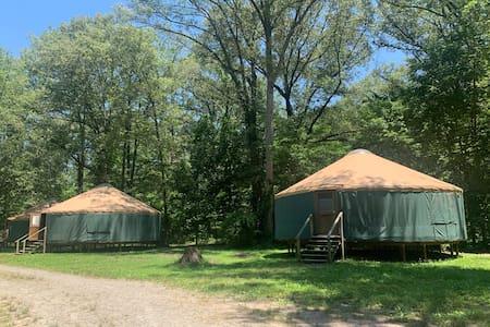 Camp Manitowa - Green Yurt #1