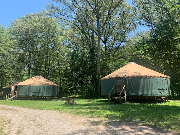 Camp Manitowa - Green Yurt #1