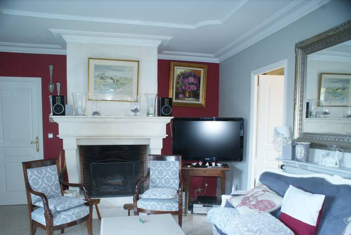 chambre avec jardin calme - La Frenaye - Hus