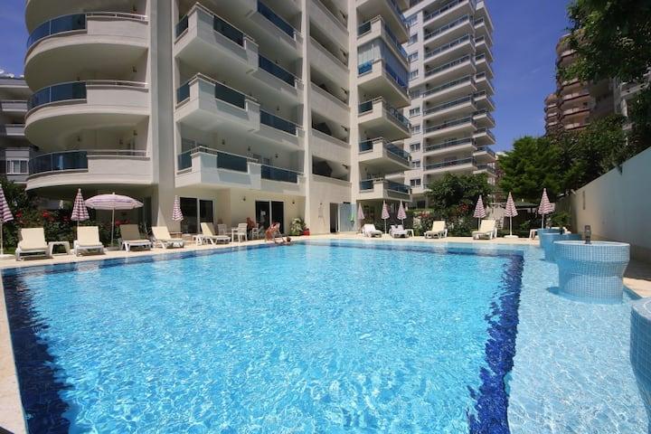 Mahmutlar, Antalya 400m Море - Престижная квартира