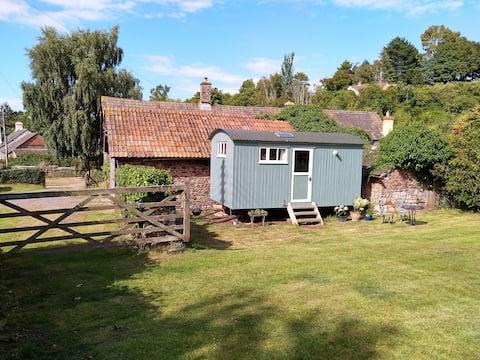 Eigen Herdershut,  Doverhay Farm, Exmoor