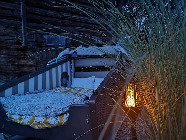 Alpenschlafkorb am Glarner Sternenmeer