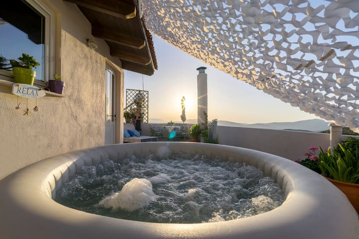 """Private Jacuzzi - Stone House """"Miron"""""""