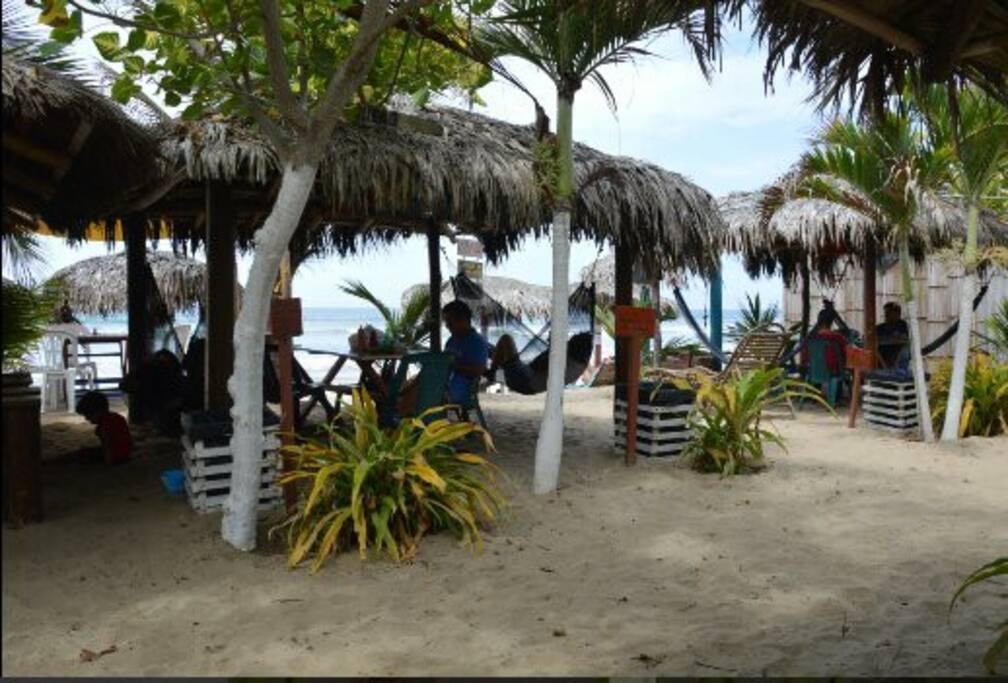 Zona del playa hotel