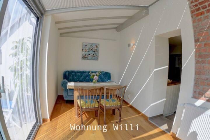 Ferienhaus bei Juste, Wohnung Willi