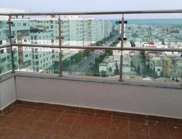 Bright apartment in Tétouan w/ view - Tétouan