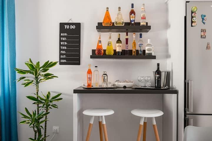 Brand new apartment near Corfu town