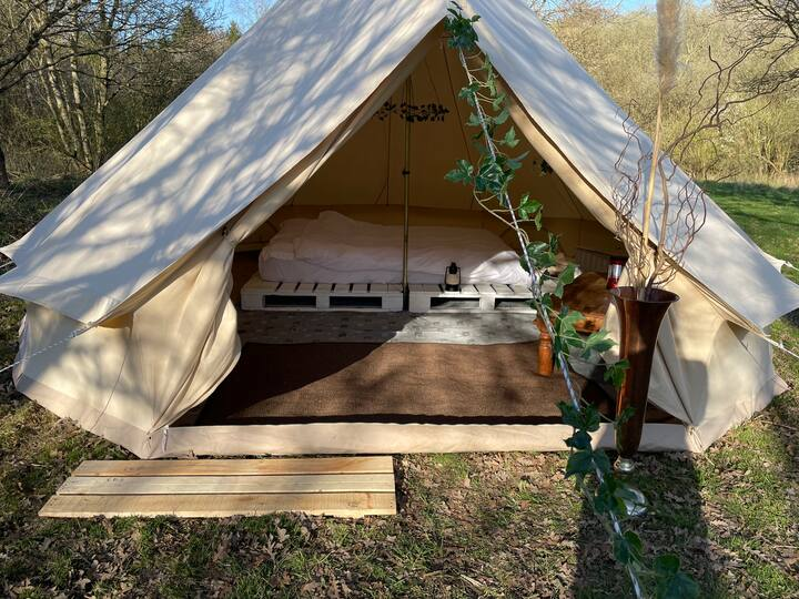 Eco 5M Bell Tent just outside of Watford