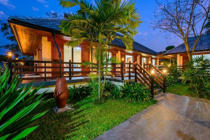 #Garden View #Terrace #2 Room #Family Kitchen