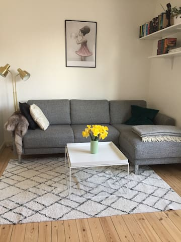 A bright apartment near the beach, city and metro - København - Lejlighed