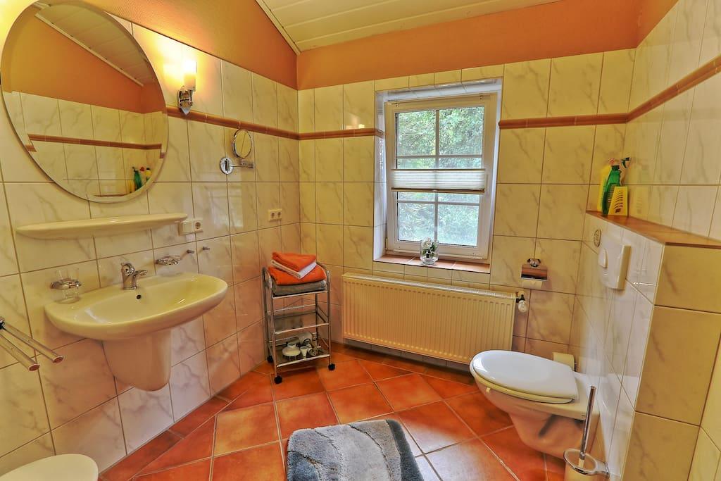 Dusche / WC - Wohnung 3