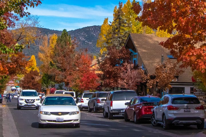 The Village fall foliage