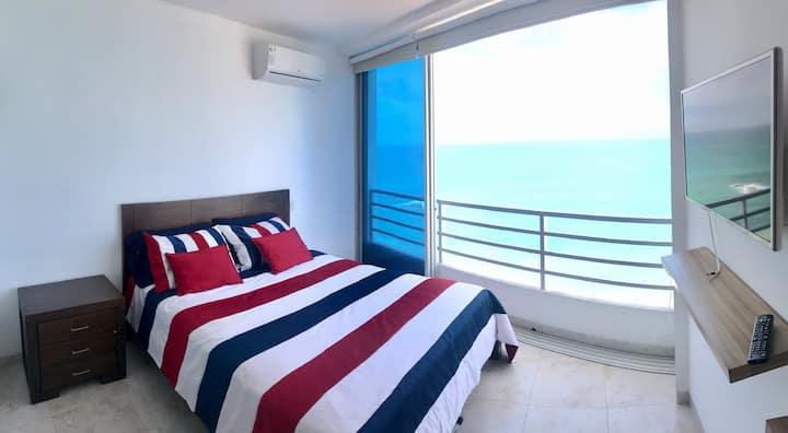 Malecon de San Lorenzo nuevo vista al mar