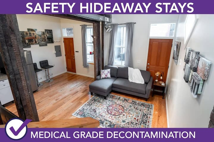 Safety Hideaway - Medical Grade Clean Home 126