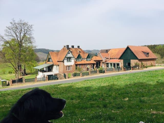 Vulkaneifel -Hof Grindelborn Wohnung Wildblick