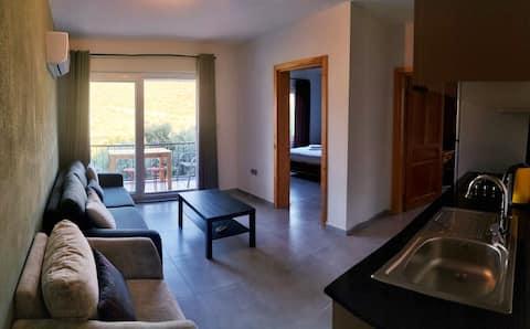 Квартира № 1 Тихая, тихая, 2 +1, с видом на природу