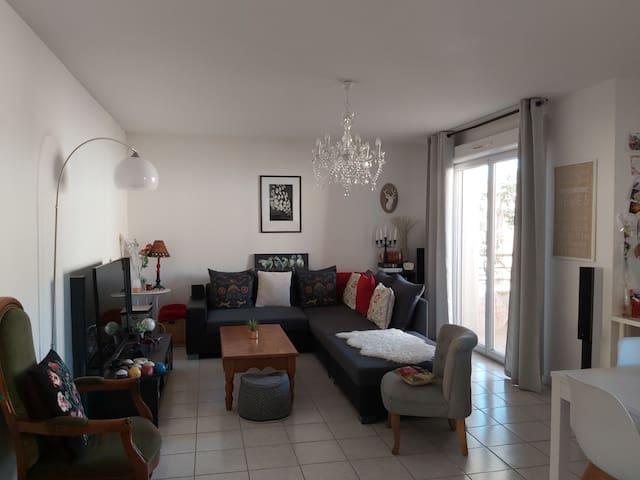 Location chambre privée dans appartement coosy