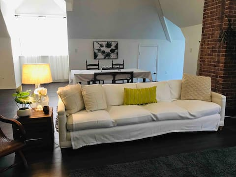 Spacious Loft Apartment - Close to Downtown/med sc