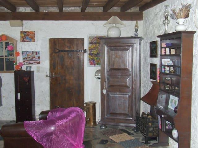 maison au coeur des vignes - Saint-Pierre-d'Aurillac - House