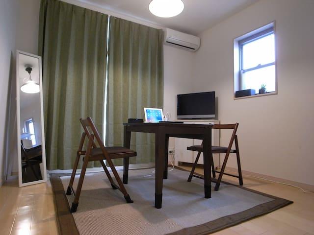 One room new apartment in YOKOHAMA near KAMAKURA